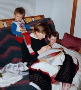 quilter kids circa 1992
