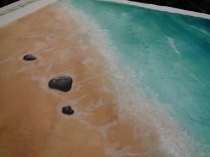 shore rocks whole cloth