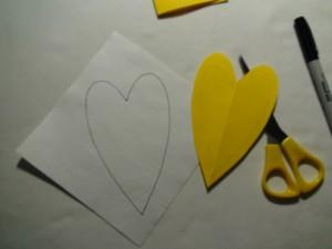 heart draw cut