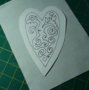 stitching finished