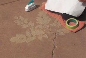 patio pre rub
