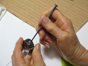 Adjusting tiny screw
