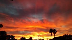 sunrise oct 25 2015