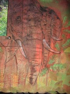 the elephants detail