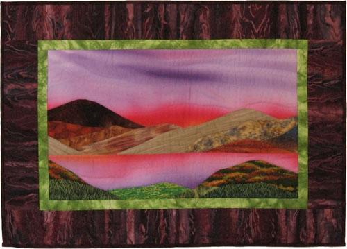 art quilt landscape