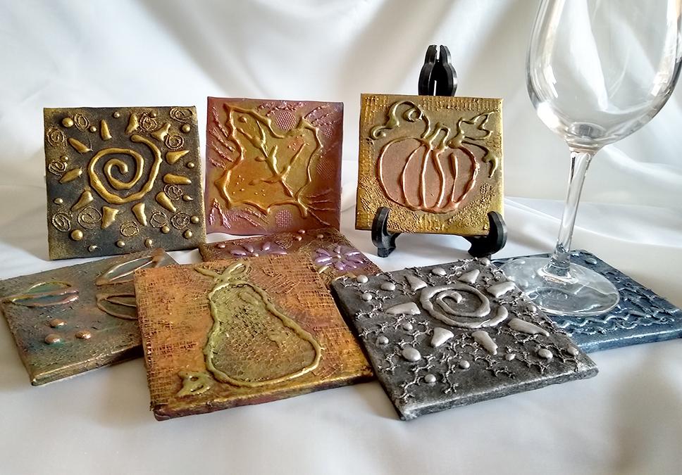 altered art tiles